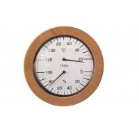 Термогигрометр для сауны и бани Tesli  большой 205