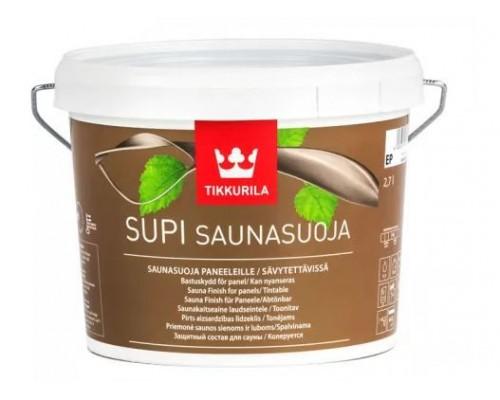 Защитная пропитка для стен в сауне SUPI SAUNASUOJA