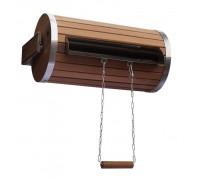 Водопад-цилиндр Tesli 18 л. из термодерева и нержавеющей вставкой