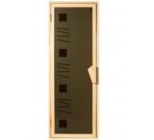 Двері для лазні та сауни Tesli Alfa Art 1900 x 700