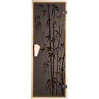 Дверь для бани и сауны Tesli Бамбуковый лес 1900 х 700