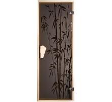 Дверь для бани и сауны Tesli Бамбук 1900 х 700