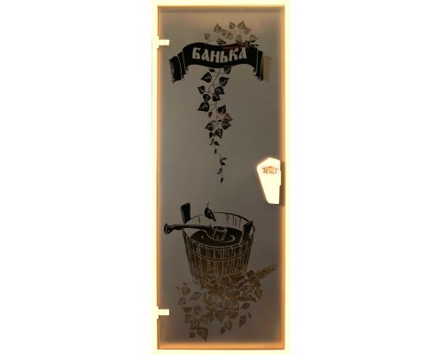 Дверь для бани и сауны Tesli Банька 1900 х 700