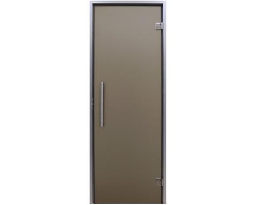 """Дверь для хаммама Tesli """"Анталия Sateen"""" 1900 х 700"""