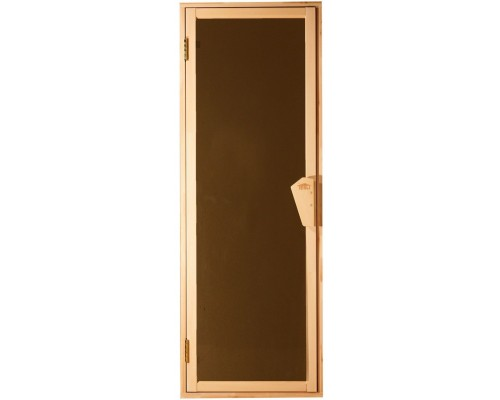 Дверь для бани и сауны Tesli UNO Sateen 1900 х 700