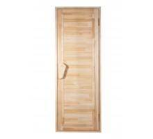 Дверь для бани и сауны Tesli Глухая Зебра 1900 х 700