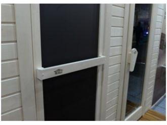 Как выбрать дверь для сауны. Почему двери Tesli – лучшие.